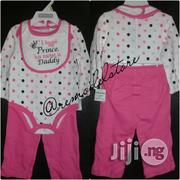 US Kids Headquarters Baby Set, Baby Girl 2pcs Layered Shirt And Pant | Children's Clothing for sale in Lagos State, Victoria Island