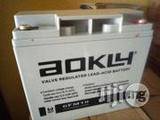 18ah 12V Aokly Deep Cycle Battery | Solar Energy for sale in Lagos State, Ojo