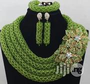 Beaded Necklace Beads Necklace Earring Bracelet Set | Jewelry for sale in Plateau State, Jos