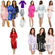 Beautiful Plain Satin Robe For Sale | Clothing for sale in Lagos State