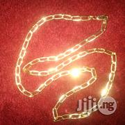 ITALY 750 Pure 18karat Gold Necklace New Doggychain Design | Jewelry for sale in Lagos State, Lagos Island