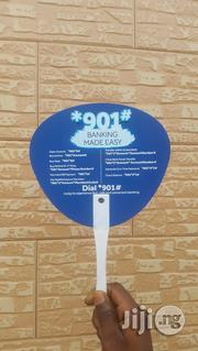 Customized Hand Fan-Perfect Advertizing Tool | Stationery for sale in Lagos State, Ikeja