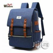 Wowang 203 Canvas Laptop Backpack(Blue) | Bags for sale in Lagos State, Lagos Island